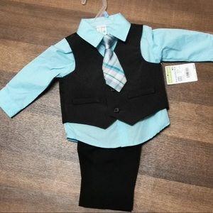 Super Cute Baby Boy 4 Piece Suit Set